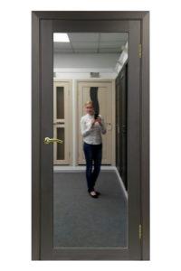 Межкомнатная дверь Оптима Порте Турин 501.1 — зеркало