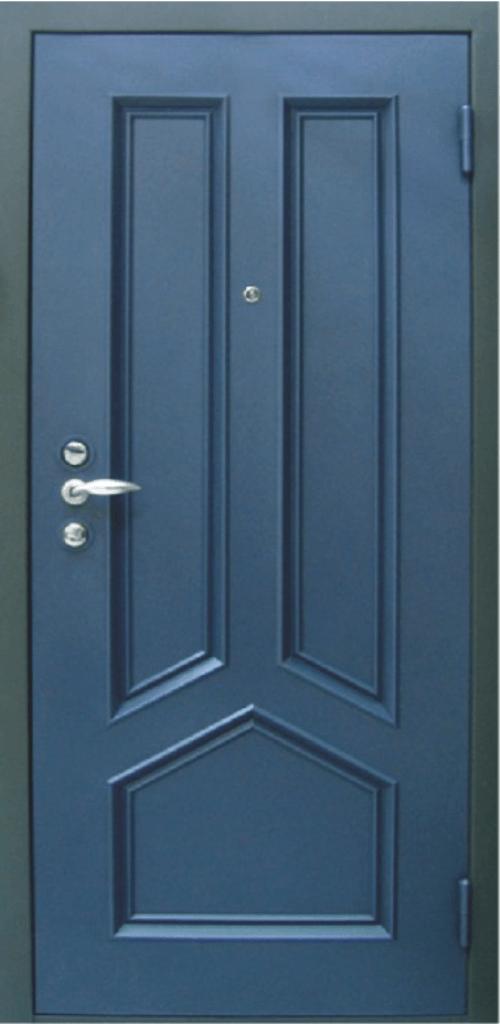 дверь металлическая с филенкой