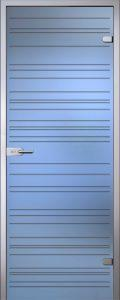 Стеклянная дверь Грация