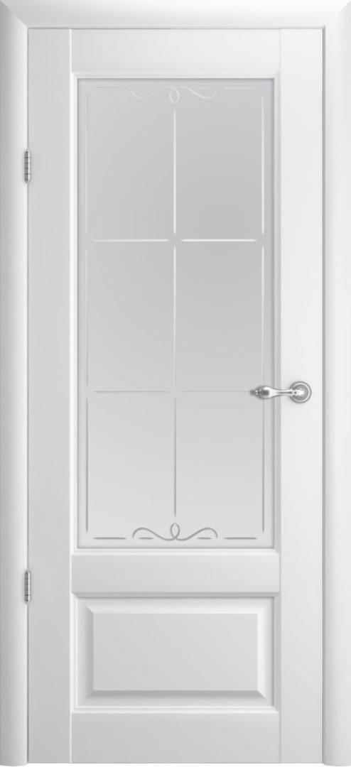 Межкомнатная дверь Эрмитаж 1 ПО Галерея — белый