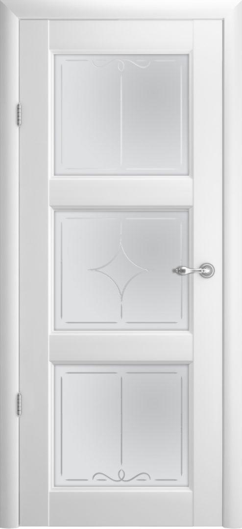 Межкомнатная дверь Эрмитаж 3 ПО Галерея — белый
