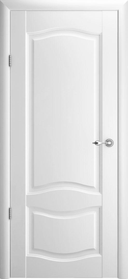 Межкомнатная дверь Лувр 1 ПГ — белый