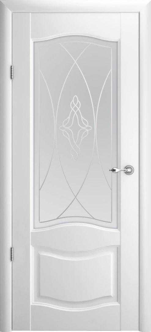Межкомнатная дверь Лувр 1 ПО Галерея — белый