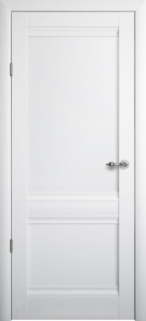 Межкомнатная дверь Рим ПГ белая