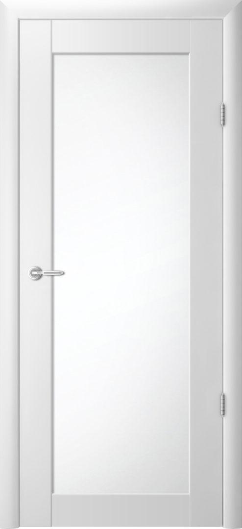 Межкомнатная дверь Сан-ремо 5 Белый винил