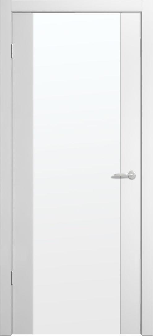 Межкомнатная дверь Сан-Ремо 1 Белый винил