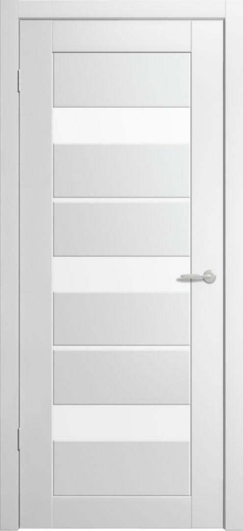Межкомнатная дверь Токио- 5 Белый винил