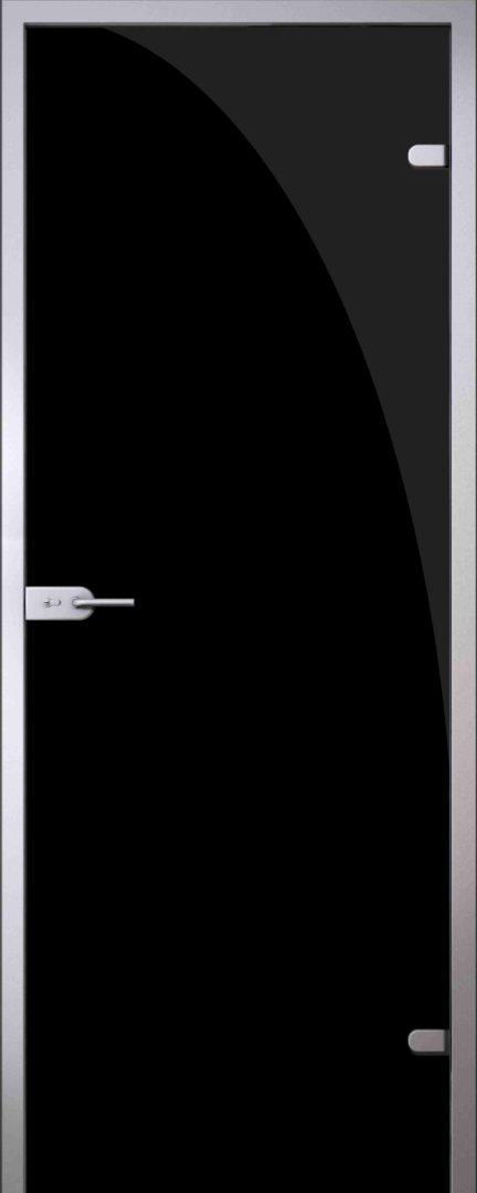 Стеклянная дверь Black