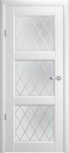 Межкомнатная дверь Эрмитаж 3 ПО Галерея – белый