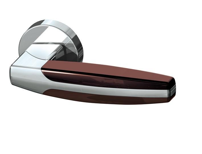 Дверная ручка ARC URB2 CP/CP/Brown-16