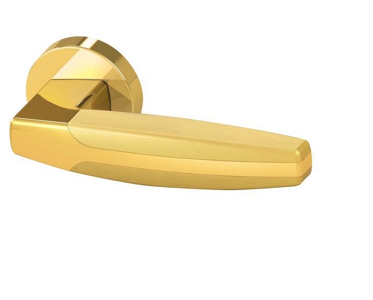 Дверная ручка ARC URB2 GOLD-24/GOLD-24/SGOLD-24