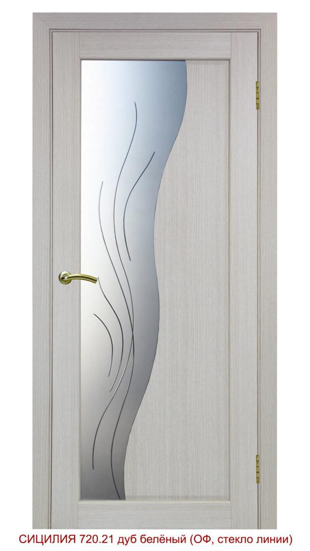 Межкомнатная дверь 720.21 линии