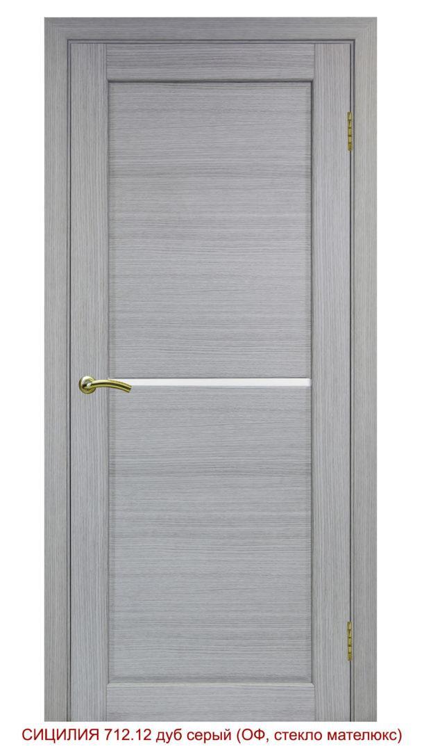 Межкомнатная дверь 712