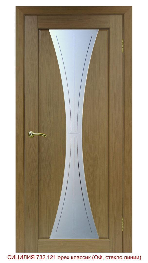 Дверь межкомнатная 732.121 линии