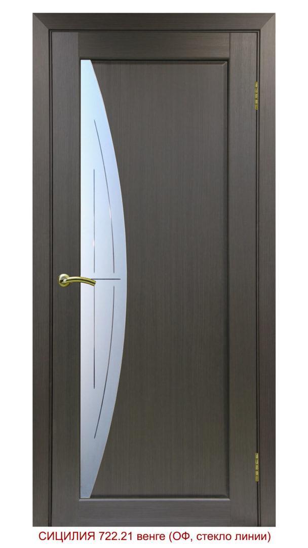 Межкомнатная дверь 722.21 линии