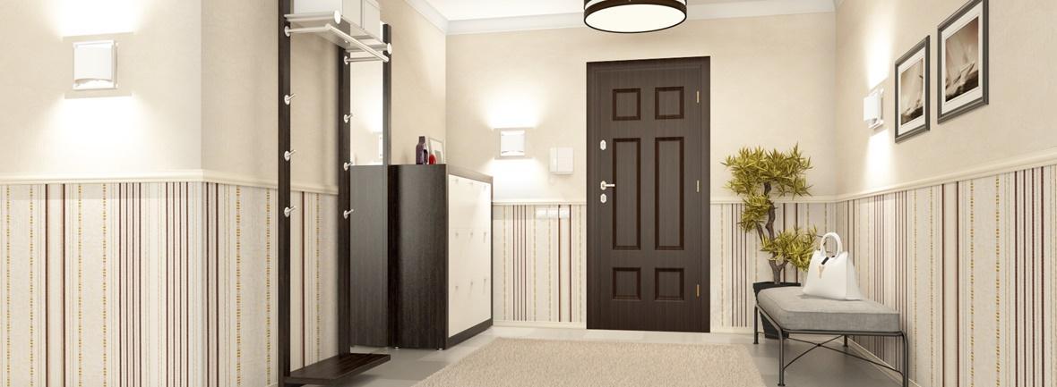 Входная дверь в интерьере «DOORSIB»