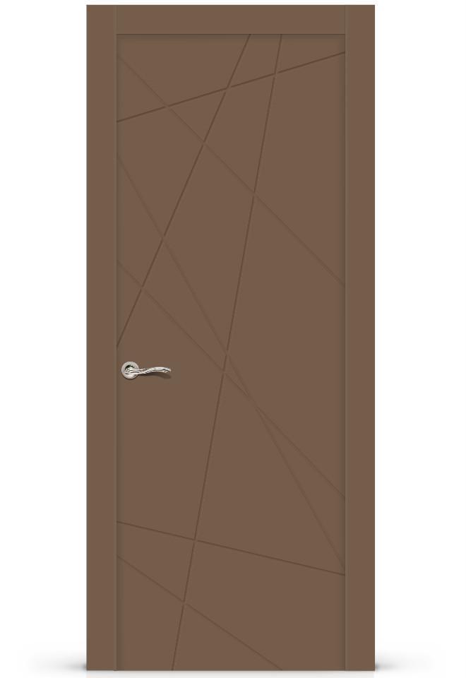 Межкомнатная дверь Винсент эмаль «Коричневый»