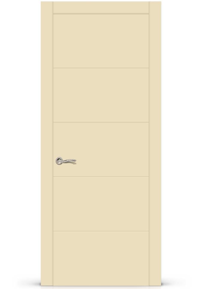 Межкомнатная дверь Ортика эмаль «Бежевый»