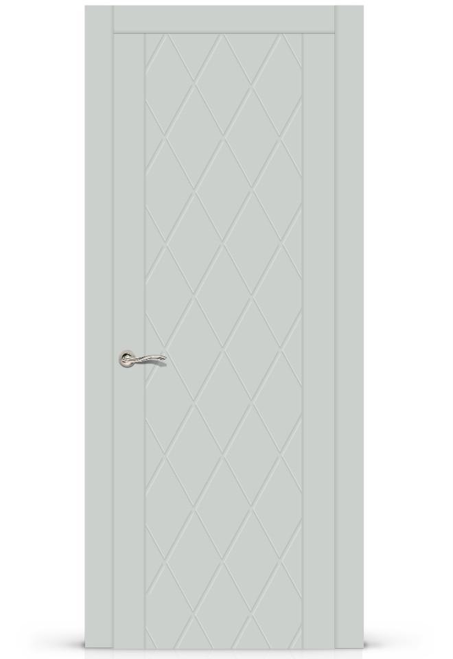 Межкомнатная дверь Готика эмаль «Серый»