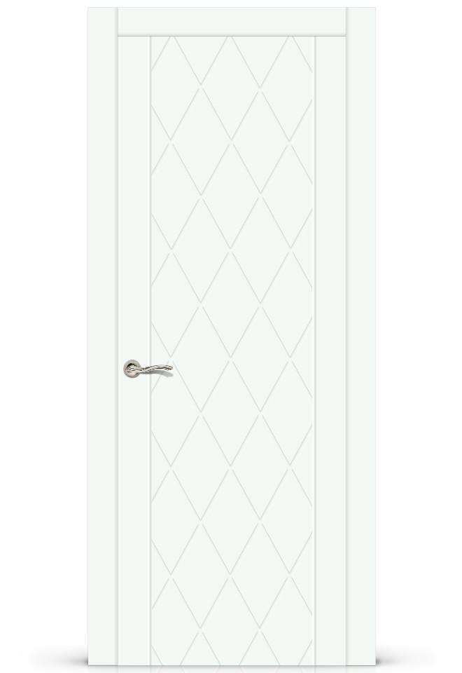 Межкомнатная дверь Готика эмаль «Белый»