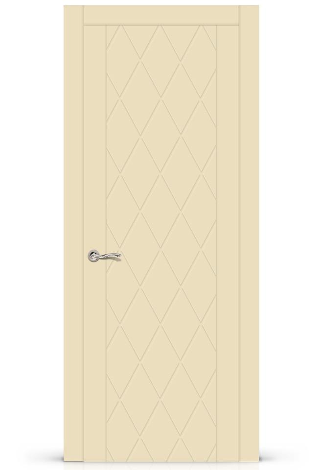 Межкомнатная дверь Готика эмаль «Крем»