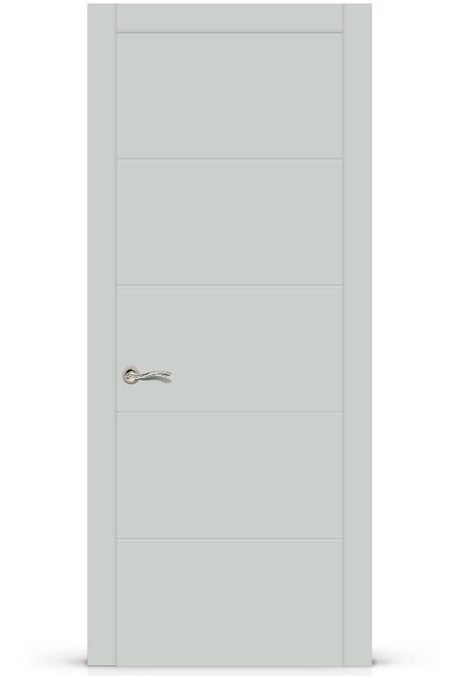 Межкомнатная дверь Ортика эмаль «Серый»
