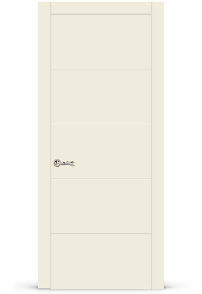 Межкомнатная дверь Ортика эмаль «Крем»