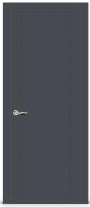 "Межкомнатная дверь Готика эмаль ""Серый"""