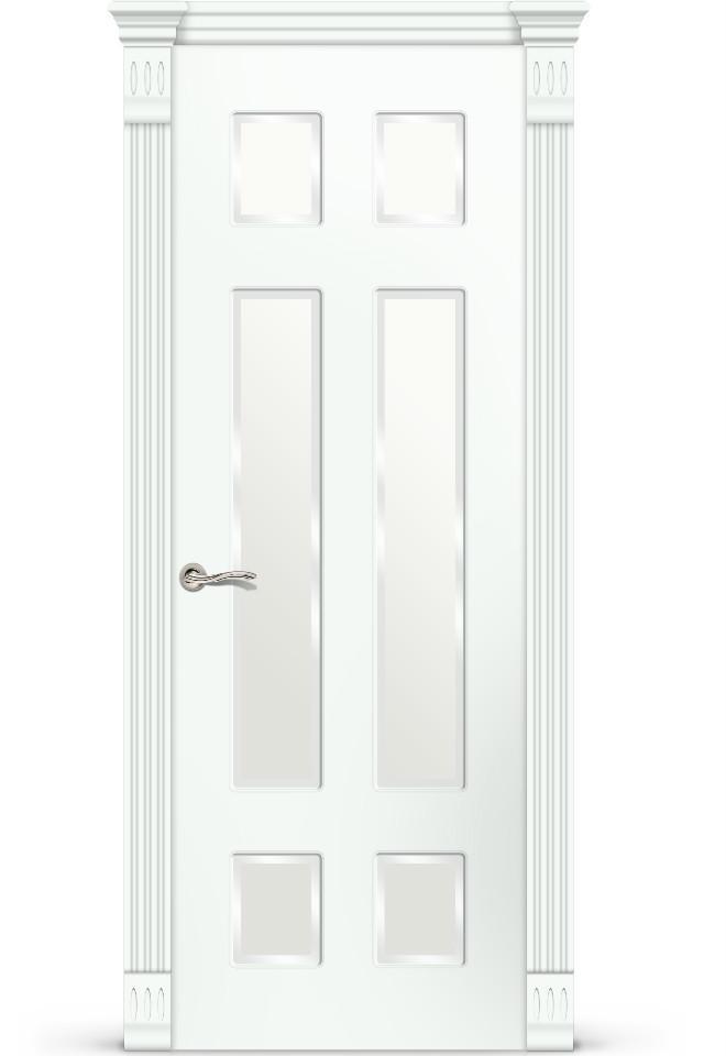 Межкомнатная дверь Мишель эмаль «Белый»
