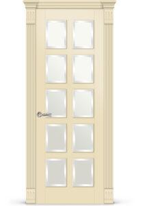Межкомнатная дверь Ориан эмаль «Бежевый»