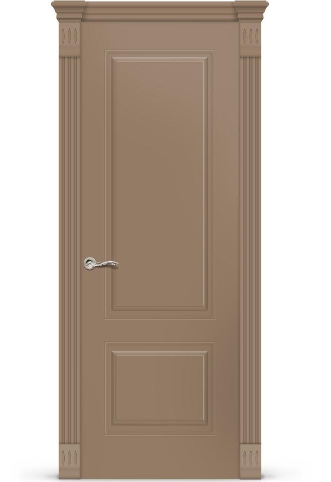 Межкомнатная дверь Вероник ПГ эмаль «Светло коричневый»