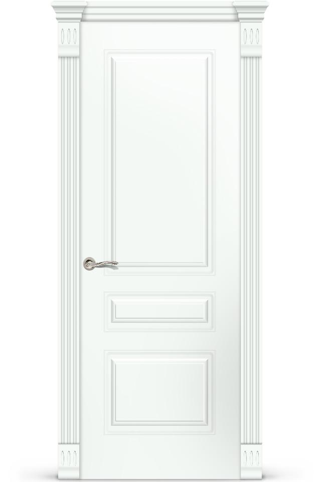 Межкомнатная дверь Вероник 2 ПГ эмаль «Белый»