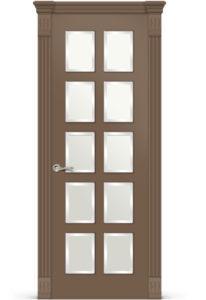 Межкомнатная дверь Ориан эмаль «Коричневый»