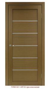 Межкомнатная дверь Турин 501.1 АПП — молдинг