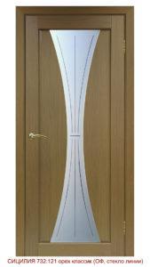 Межкомнатная дверь Сицилия 732.121 линии