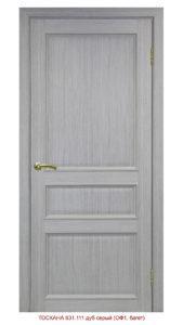 Межкомнатная дверь Тоскана 631.111 ОФ1 багет
