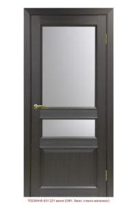 Межкомнатная дверь Тоскана 631.221 ОФ1 багет