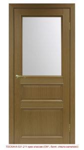 Межкомнатная дверь Оптима Порте Тоскана 631.211 ОФ1 багет