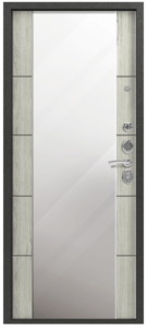 Входная дверь в квартиру Центурион С-104 Зеркало