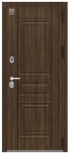 Входная дверь в квартиру Центурион LUX-4 Нержавеющий порог