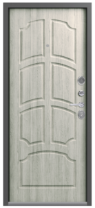 Входная дверь в квартиру Центурион LUX-5 Нержавеющий порог