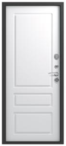 Входная дверь в квартиру Центурион LUX-6 Софт белый