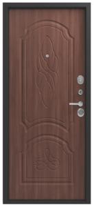 Входная дверь в квартиру Центурион LUX-6 Орех