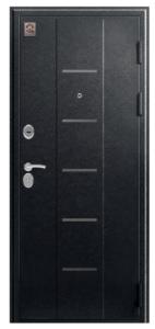 Входная дверь в квартиру Центурион С-105 Черный муар/Лиственница темная
