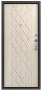 Входная дверь в квартиру С-106 Черный муар/Седой дуб