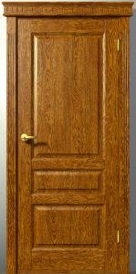 Межкомнатная дверь из массива Классика Ф-1 Карниз