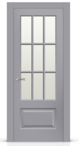 Межкомнатная дверь Олимп эмаль «Серый»