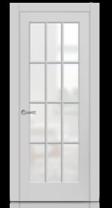 Межкомнатная дверь Олимп 2 эмаль «Серый»