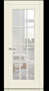 Межкомнатная дверь Олимп 2 эмаль «Крем»