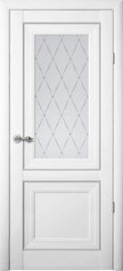 Межкомнатная дверь Прадо Vinyl Белый Мателюкс
